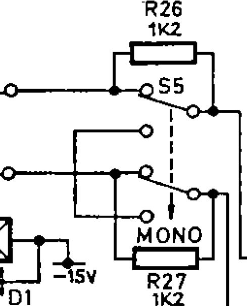 stereo to mono switch